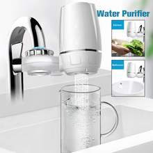 Tap Water Purifier 7 Layer Water Filter Replacement Kitchen Faucet Washable Ceramic Percolator Filtro Rust Bacteria Removal