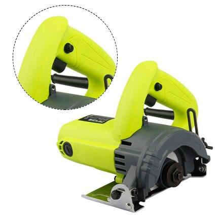 Stone / wood / metal / tile cutting machine, hand-held home multi-function high power circular saw machine