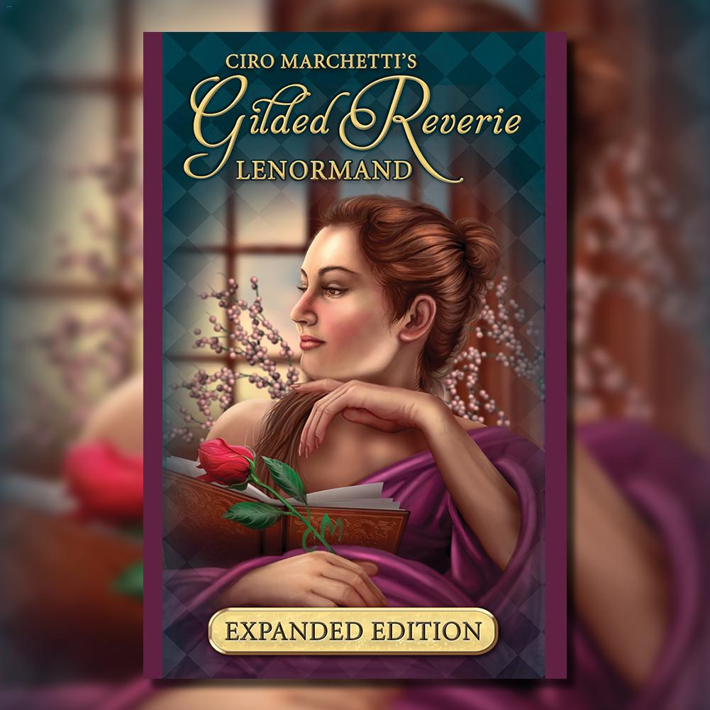 47 Cards Gilded Reverie Lenormand: Expanded Edition Mass