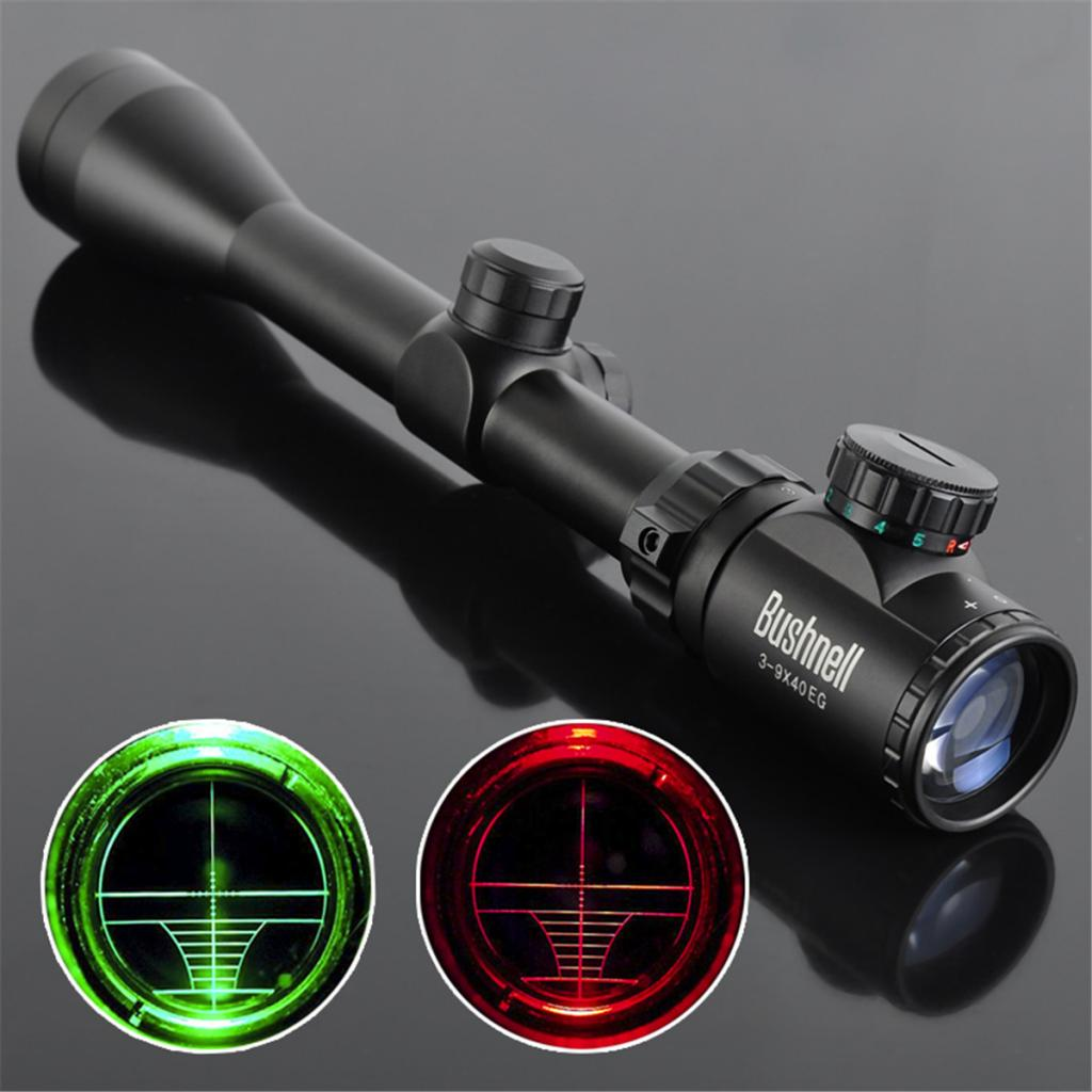 Perfeclan 3-9X40EG Hunting Rifle Scope Red Green Mil-dot Illuminated Scope