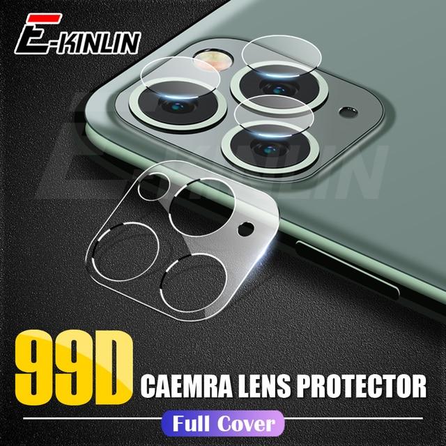 Pellicola protettiva per obiettivo della fotocamera per iPhone 12 11 Pro XS Max XR X SE Samsung Galaxy Note 20 10 S20 Ultra Plus 5G Pellicola in vetro temperato
