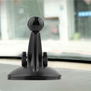 Black 55*62mm Windshield Windscreen Car Suction Cup Mount Stand Holder For Garmin Nuvi GPS Easy to Install