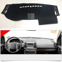 แผงควบคุมภายในพรมเบาะรองนั่งในรถยนต์ป้องกันสำหรับ Land Rover Freelander 2