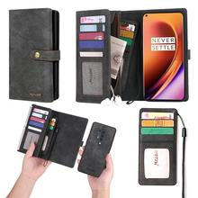 Wallet Cases Fit for One plus 8 Shell Retro Flip Leather Phone Case 8/One Pro