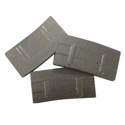 DS14 dientes protectores segmentos de diamante segmentos de corte afilado para granito duro herramientas de corte de dos conjuntos