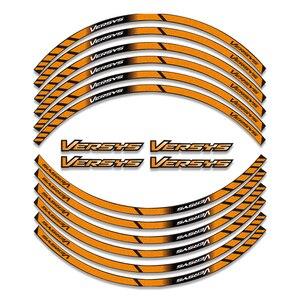 Image 5 - Película de diamante para KAWASAKI Versys 650/1000 VERSYS650 Versys1000, pegatinas de rueda de colores, reflectantes, impermeables, calcomanías de llanta