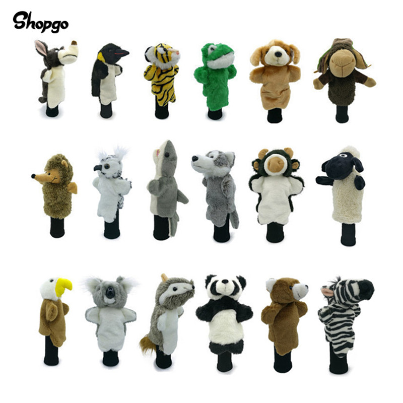 All Kinds Of Animals Golf Hybrid Wood Head Covers Golf Utility Covers Fit Up To Fairway Rescue Men Lady Mascot Novelty Cute Gift