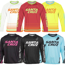 Mens Long Sleeve Cycling Clothing Lycra Mountain Bike Downhill Jersey Off Road MTB Bicycle DH T Shirt Motocross Clothes Vtt Mx