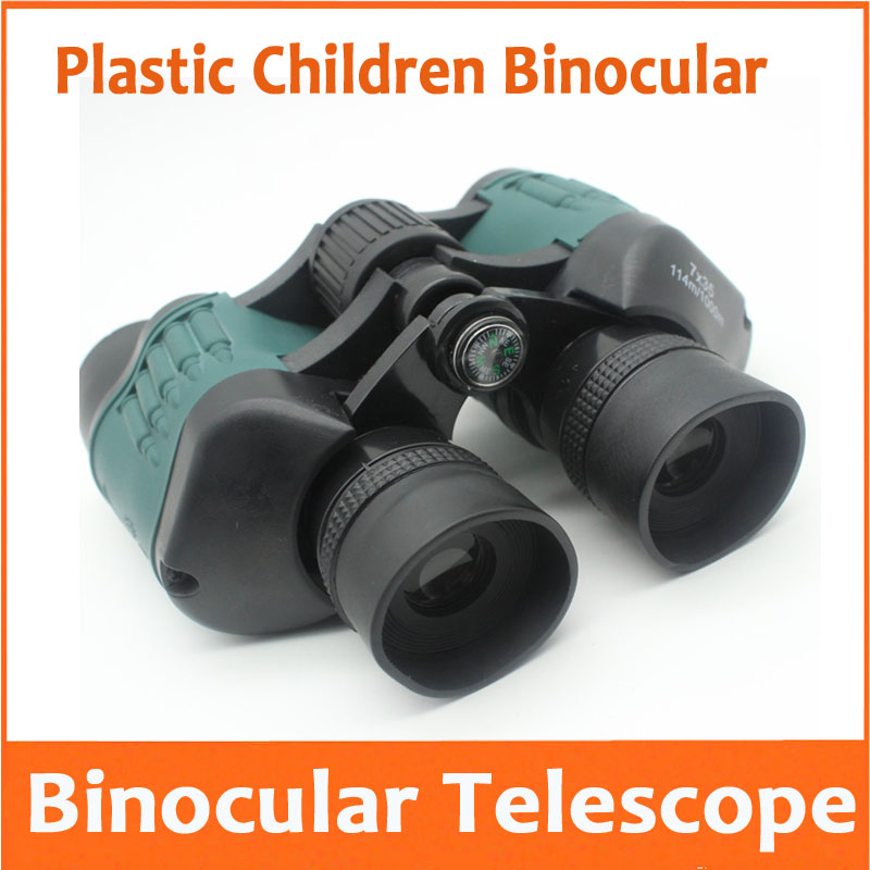 Aletler'ten Mikroskop Parçaları ve Aksesuarları'de 5X plastik oyuncak teleskop doğum günü hediyesi kuş görüntüleyici cep eğitim 5 kez teleskop dürbün çocuk çocuklar için öğrenciler title=