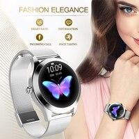 KW10 bande IP68 étanche montre intelligente femmes beau Bracelet moniteur de fréquence cardiaque surveillance du sommeil Smartwatch connecter IOS Android
