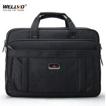 Maletín de negocios para hombre, bolsa para ordenador portátil de 16 pulgadas, bolso de hombro negro con múltiples bolsillos, bolsa de viaje de gran capacidad para documentos, XA921