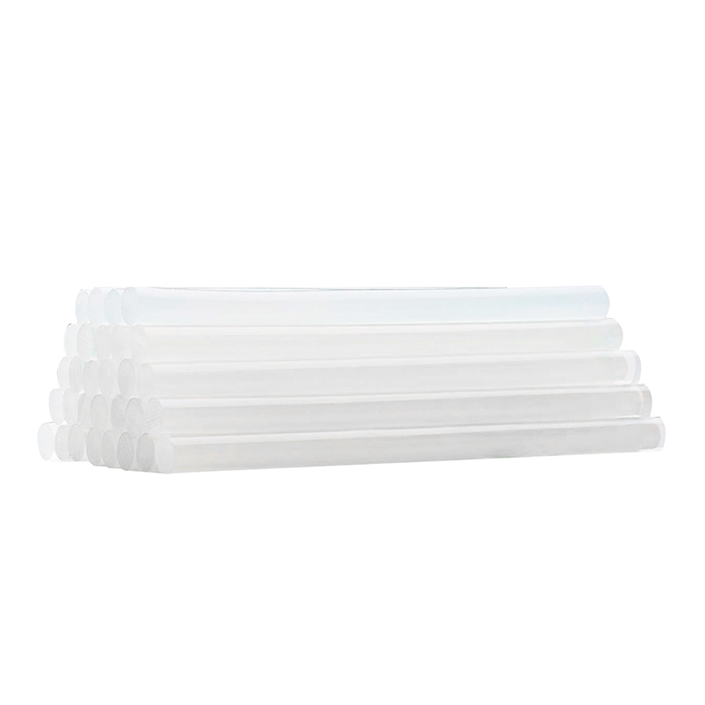 100 Glue Stick/_4/'/'//10cm Translucence Hot Melt Refill Sticks For Art /& Craft Fix
