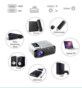 Image 4 - Wzatco E500 3500 ルーメンのwifiアンドロイド 10 スマートミニポータブルledプロジェクターマルチメディアサポートフルhd 1080p proyector