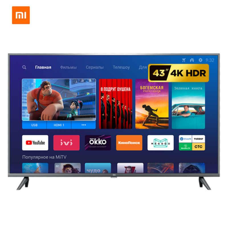 Telewizja xiaomi mi TV 4S 43 android smart TV LED 4K 1G + 8G DVB-T2 TV wersja globalna