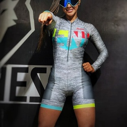 Frenesi colombia cycling skinsuit men triathlon suit short sleeve Skating suit Jumpsuit Maillot Cycling Ropa ciclismo