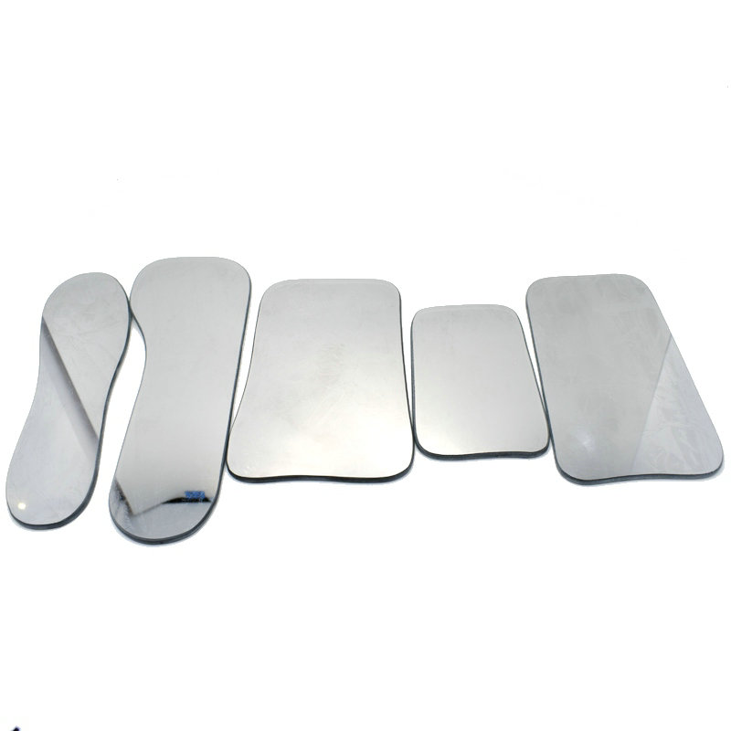 5 PCS Dental Intraoral Occlusal Double-Sided Photographic Glass Mirror