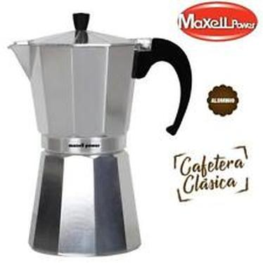 ITALIAN COFFEE MAKER 6 CUPS ALUMINUM EXTRA RESISTANT SILICONE GASKET QUALITY