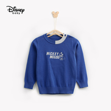 Disney Baby Boys Bottom Sweater Pure Cotton Fall 2019 New Kids Mickey Sweaters Boy Girls