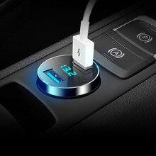 Phone-Charger Universal Dual-Usb Creta Car FOR Kia Rio-X-Line Touareg Camry Honda Civic