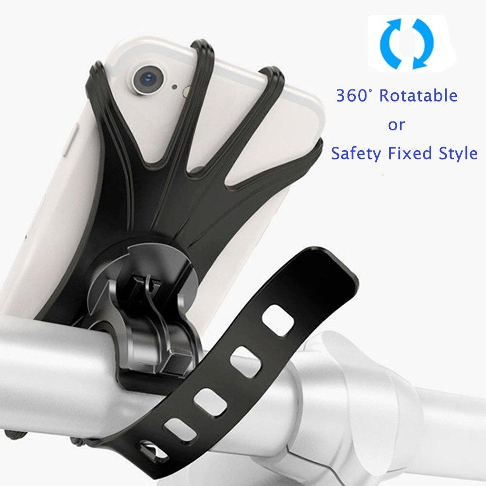 Велосипедный держатель для телефона iPhone Samsung Xiaomi, универсальная подставка для мотоцикла и велосипеда, кронштейн для GPS для мобильных телефо...