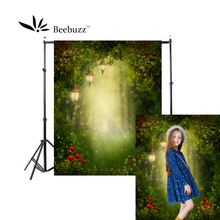 Beebuzz photo backdrop green dream forest backgroung studio and family portraits photophone