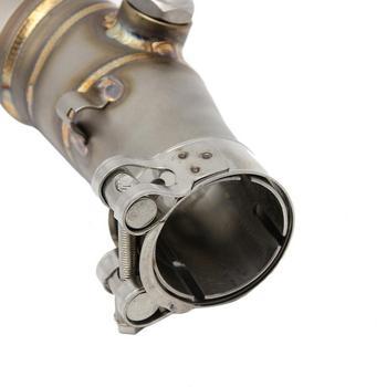 Мотоциклетная Соединительная труба выхлопная средняя труба для Kawasaki ER6N