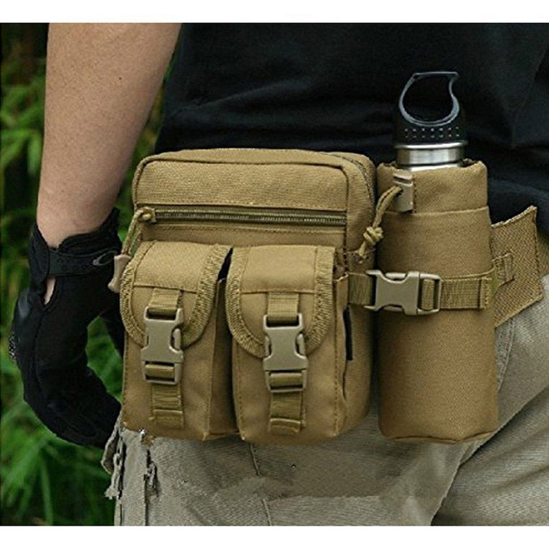 Belt-Bag Phone-Case Pocket Tactical-Pouch Camping-Bags Hip-Waist Travel Military Outdoor title=