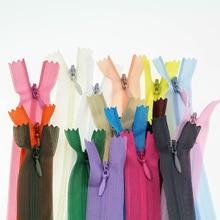3#60 см Невидимые молнии DIY нейлоновая катушка Кружева молнии для шитья одежды Подушка инструмент портного одежды