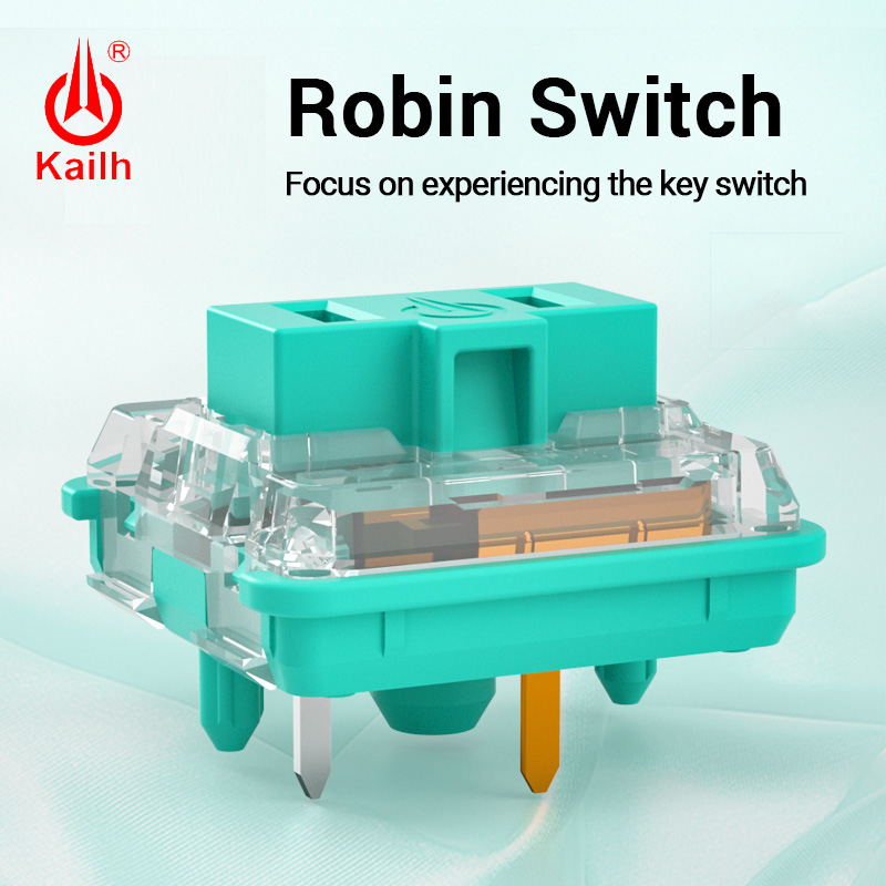 Kailh low profile Switch Chocolate Keyboard Switch RGB SMD kailh Mechanical Keyboard white stem clicky hand feeling Robin Switch
