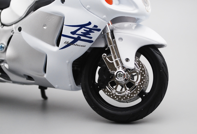 Image 2 - Maisto 1/12 Suzuki GSX1300R Motorcycle Motorbike Diecast Display Model Toy For Kids Boys GirlsDiecasts & Toy Vehicles   -