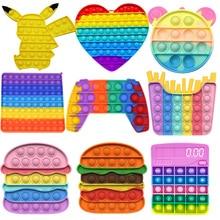 Butterfly Bubble Pops Fidget Kids Toy Sensory Autisim Special Need Its Anti-stress Stress Relief Squishy Fidget Toy For Kids