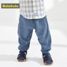 Balabala Baby trousers newborn casual pants 2020 new summer boys  girls casual fashion sports pants