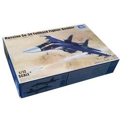 Trumpeter 01652 1/72 русский Su-34 полноразмерный боец-бомбардировщик пластиковые авиационные наборы