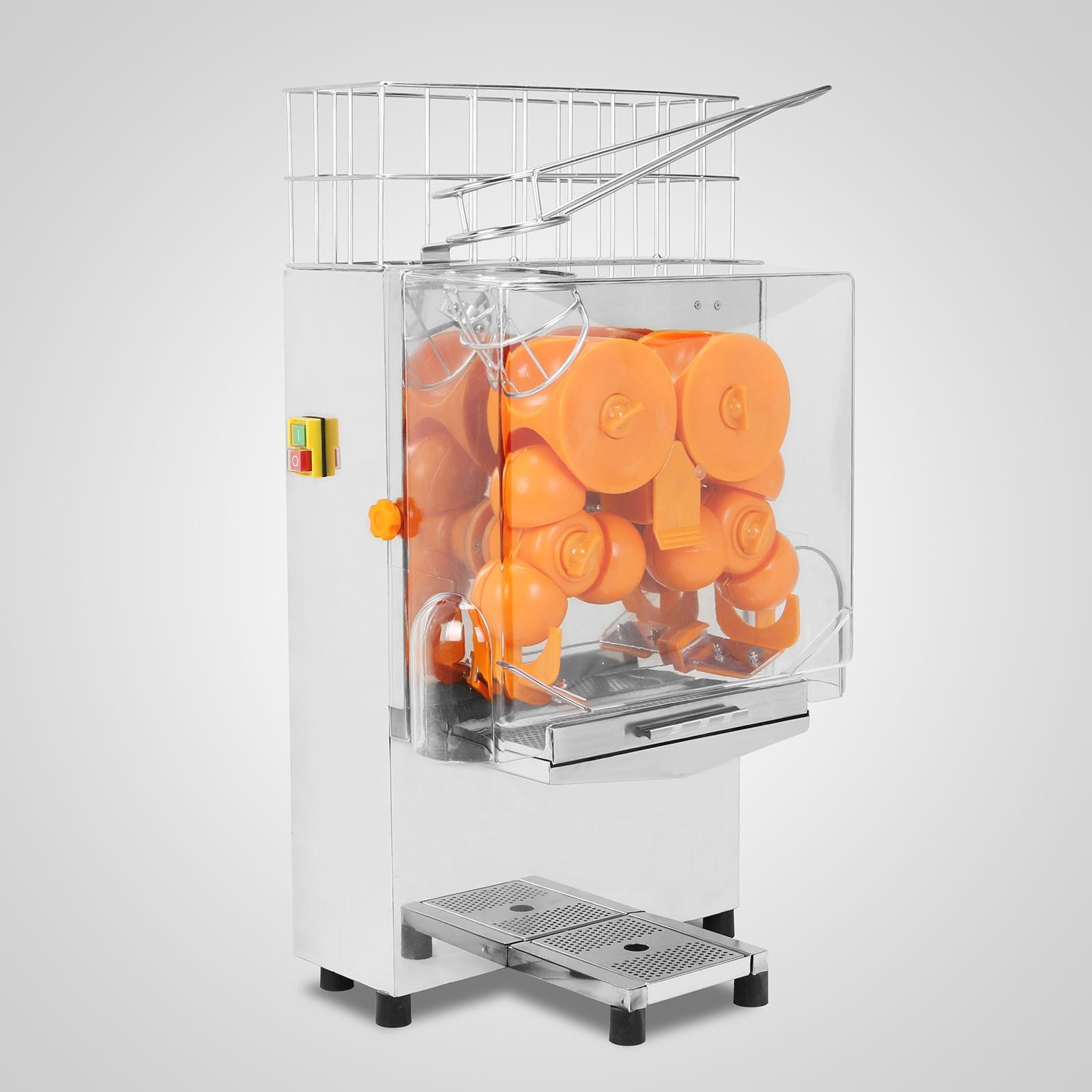 Автоматическая соковыжималка для апельсинов из нержавеющей стали 1