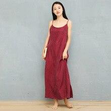 NINI WONDERLAND 2021 Summer Slip Dress Female Cupro And Silk Sleeveless Sling Dress Women Solid Color Loose Dresses Classic