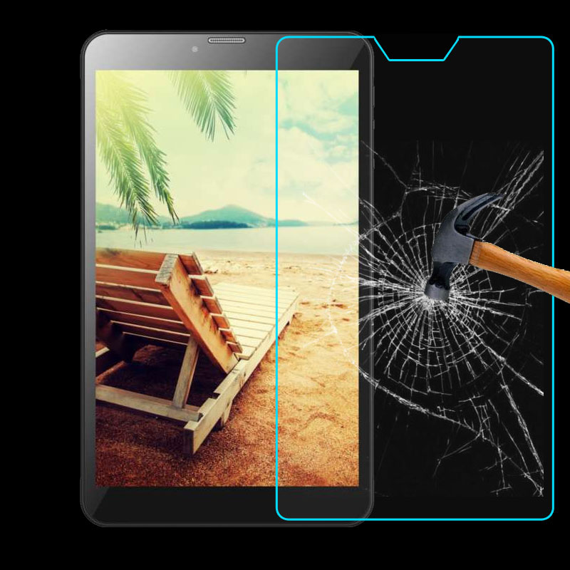 Myslc 9H Surface Explosion-proof Tempered Glass Film For DEXP Ursus P280/N280/P380 3G 4G 8