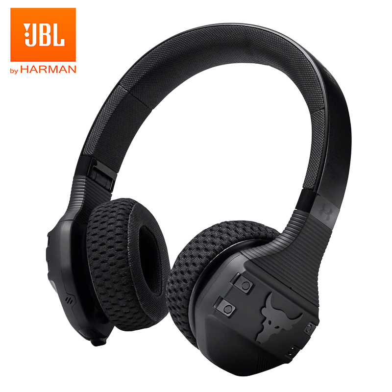 Jbl under armour true sport wireless bluetooth headphones sports gym headset ipx4 waterproof deep bass music earphone handsfree calls mic
