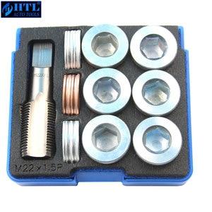 Image 3 - M13 x 1.25 to M22 x 1.5mm (pitch) Tap & Oil Drain Plug Screws Repair Bolt Select M13 M15 M17 M20 M22