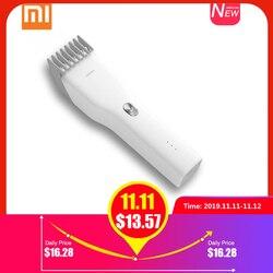 Xiaomi enchen máquina de cortar cabelo elétrica trimmer usb recarregável pro aparador barba sem fio ipx7 à prova dcordless água máquina corte cabelo