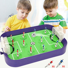 Mini Football Board Game Kit Tabletop Soccer Toys Portable Table Games Play Ball Toys Funny Party Game Toys for Kids Party Favor цена 2017