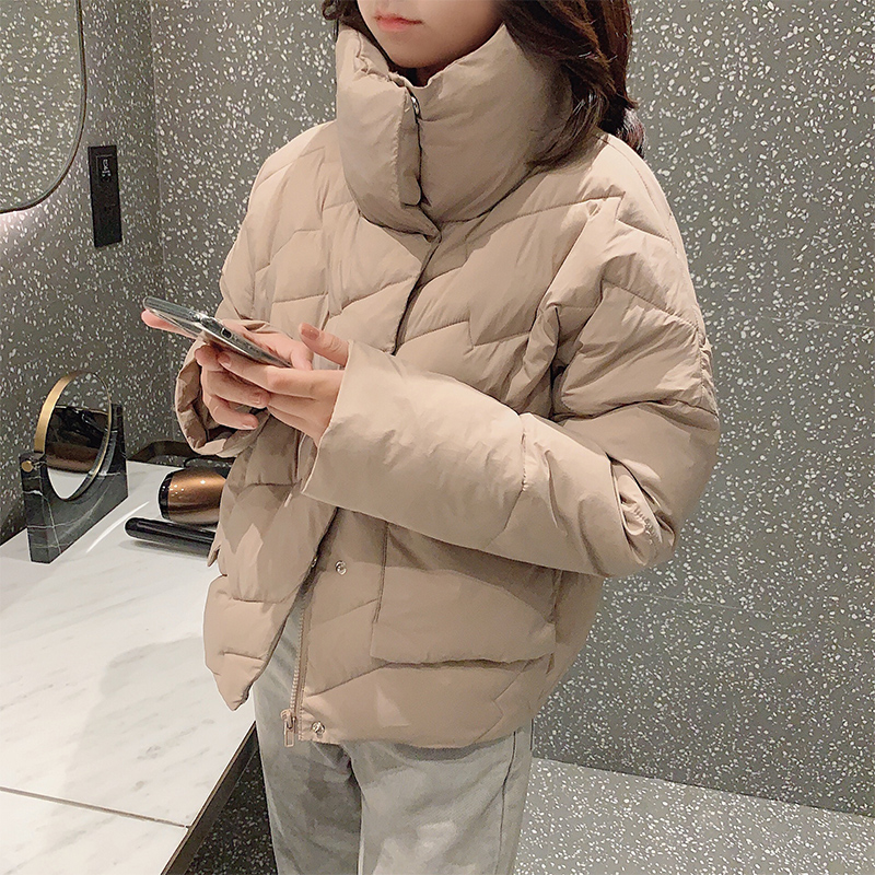 MISHOW Jacket Women Winter Short Thick Coat Warm Loose Female   Parka   Fashion Female Casual Overcoat MX19D8717