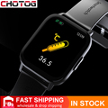 CHOTOG 1,69 дюймов Смарт-часы для мужчин температура тела Полный сенсорный экран умные часы для женщин точный кислородный монитор Часы 2021 PK P8