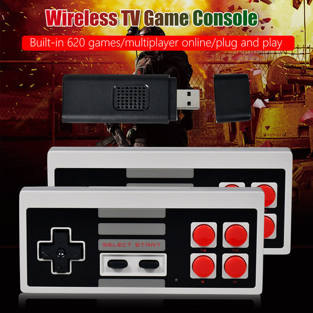 Mini USB TV Retro Console Video Game Built-In 620 Classic Games  4