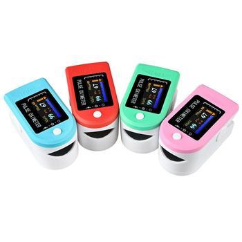 RZ przenośny palec oksymetr na opuszek palca pulseoksymetr sprzęt medyczny z wyświetlaczem OLED tętno Spo2 PR pulsoksymetr tanie i dobre opinie OUTAD Finger Pulse Oximeter