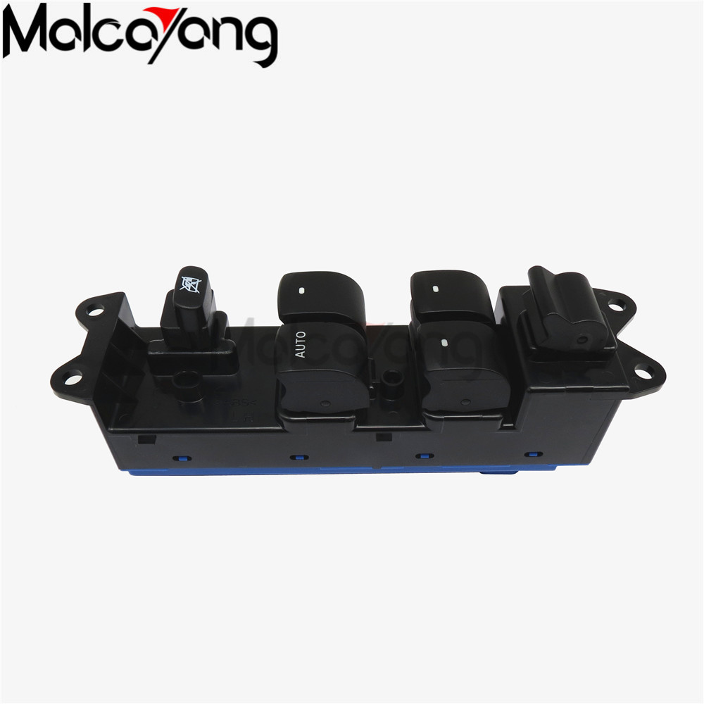 Left Front <font><b>Door</b></font> Power Casement Main Control Switch For <font><b>Subaru</b></font> <font><b>Outback</b></font> Legacy 2005 2006 2007 2008 2009 83071-AG05B image