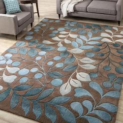 Nowoczesne żakardowe miękkie dywany do salonu dywaniki do sypialni styl skandynawski kwiatowy nadruk duży dywan do składania dywan do domu dywanik na podłogę