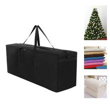600D Oxford Fabric Christmas Tree Storage Bag Outdoor Furniture Cushion Organizer Home Large Capacity Sundries Finishing Contain