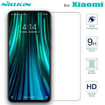 Nillkin Glass Screen Protector for Xiaomi POCO X3 NFC Mi 10 10T Lite 9 SE 9T Pro A3 8 Tempered Glass Redmi Note 9s 9 8T 8 7 Max