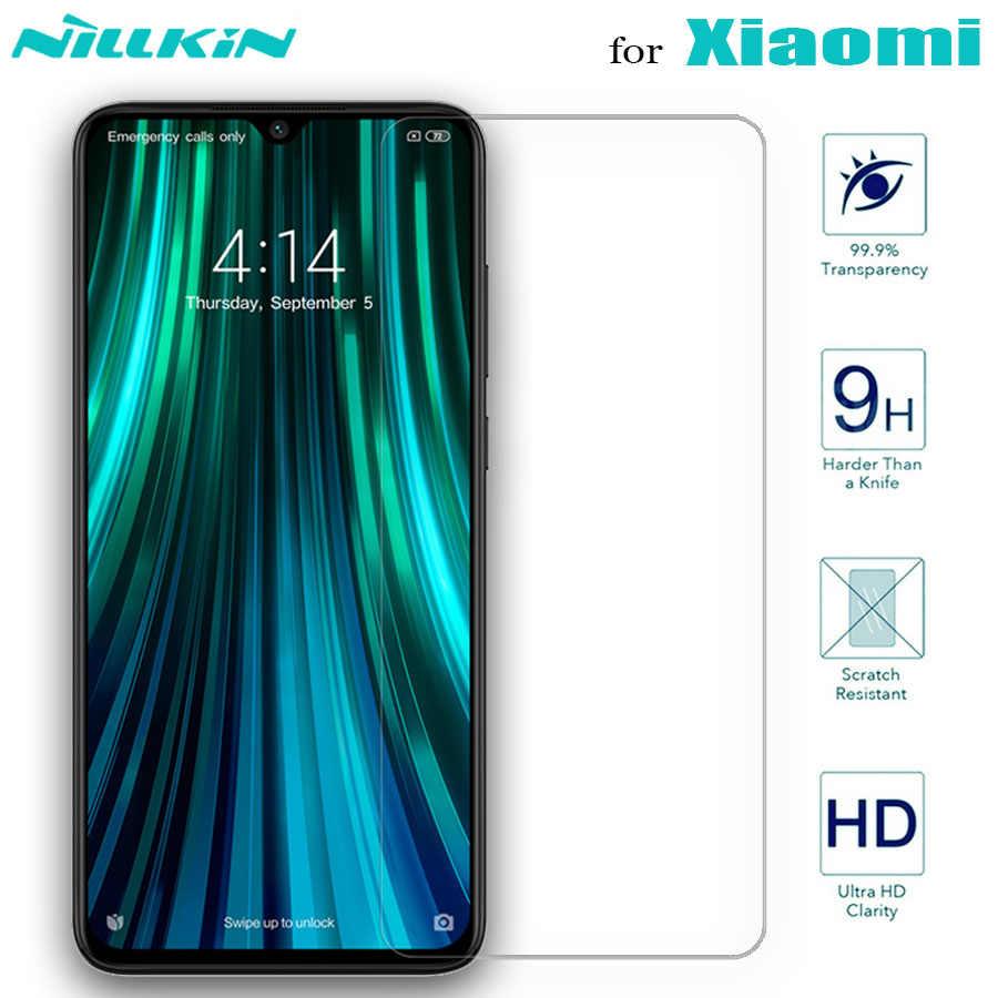 Nillkin protecteur d'écran en verre pour Xiaomi Mi 10 Lite Mi 9 SE Mi9 Mi 9T Pro A3 8 verre trempé sur Redmi Note 9s 9 8 T 8 7 Pro Max
