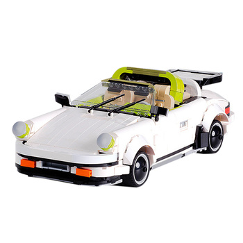 882Pcs Sports Car Vehicle Building Block Model DIY Construction Model Brain-Training Toy  For Children Kids Education Toys Gift